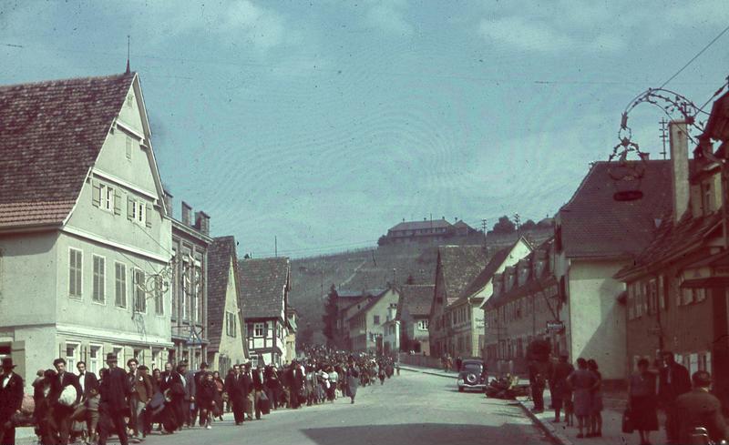 Deportation von Sinti und Roma am 22. Mai 1940 in Asperg am