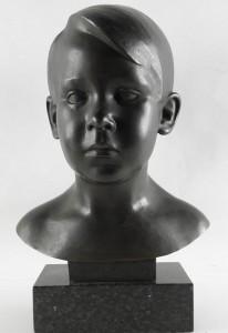 Kinder-Büste von Johannes Oertel