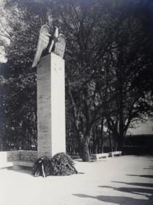 Oertel-Denkmal erinnerte im Burggarten an die Machtergreifung der Nazis