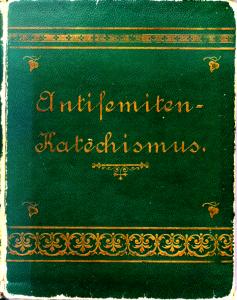 Titel der antisemitisches Schrift von Th. Fritsch