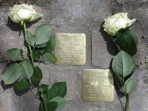 Erinnerung an die Familie Kirschbaum in der Neugasse 34