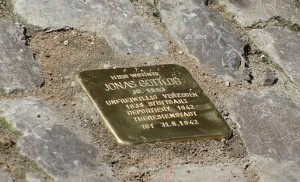 Erinnerung an Jonas Gottlob in der Kirchgasse 1