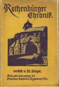 Titelseite der Chronik von 1923