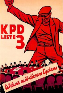Wahlplakat der KPD 1932