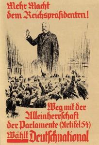 Mehr Macht dem Reichspräsidenten