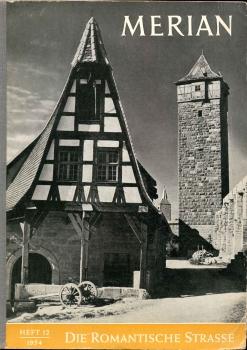 """Merian-Heft, in dem die Gerlach-Schmiede als historisch """"alt"""" bezeichnet wird, obwohl erst drei Jahre alt."""