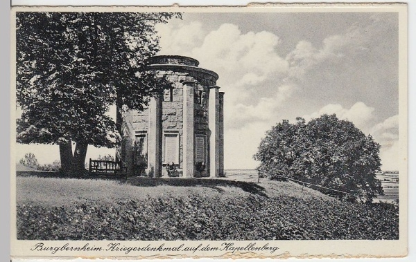 Das Ehrenmal von 1939