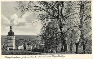 Postkarte: Luisenkirche vom Kapellenberg, 1939