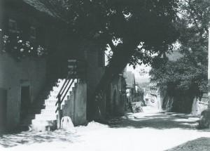 Die Judengasse vor dem Zweiten Weltkrieg