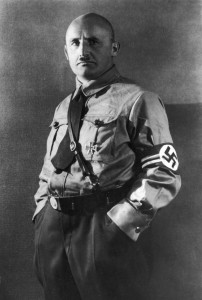 Julius Streicher in SA-Uniform vor 1933