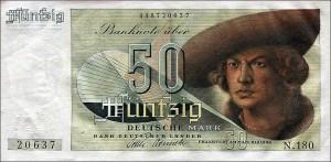 Die 50 DM-Banknote 1948-1951