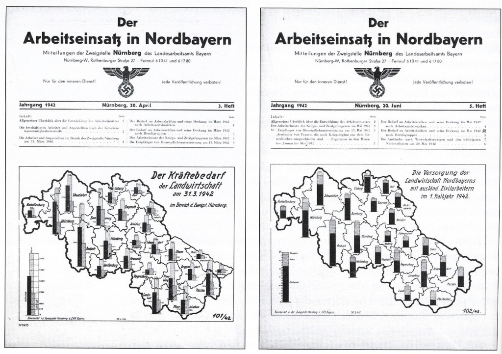Veröffentlichung des Landesarbeitsamts Nürnberg
