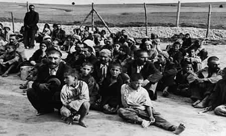 Vor der Deportation nach Auschwitz: Sinti-und-Roma-Lager