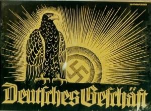 """NS-Plakat für """"arische"""" Geschäfte"""