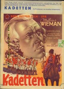 "ufa-Film-Plakat ""Kadetten"""