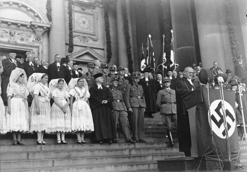 Einführung des Reichsbischof Ludwig Müller im Berliner Dom