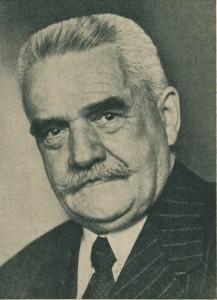 Nachkriegsbürgermeister Friedrich Hörner (1950)