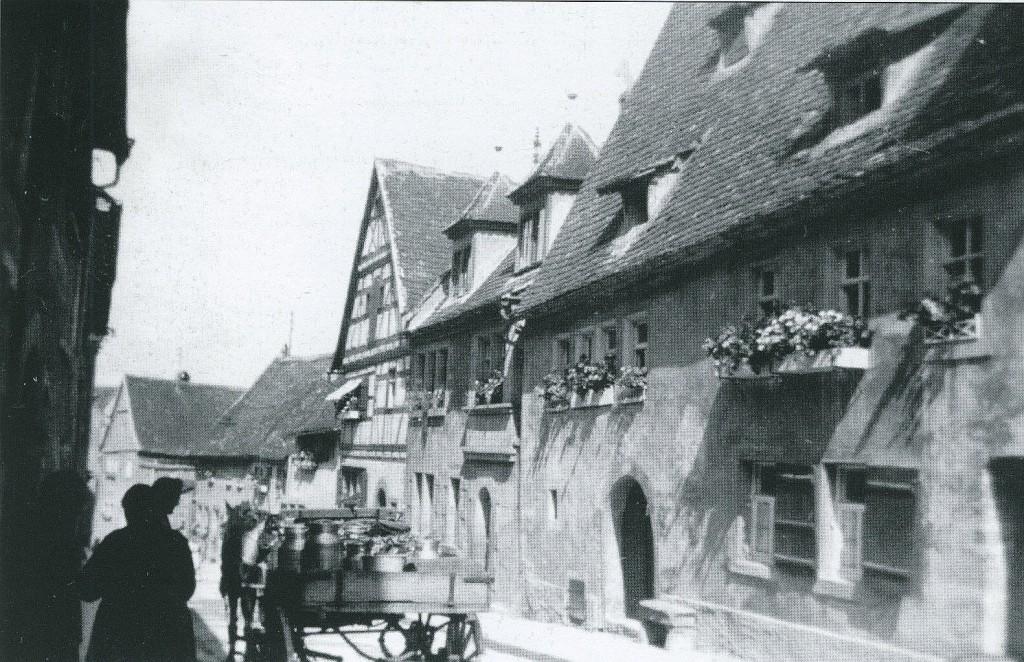 Judengasse vor dem Zweiten Weltkrieg
