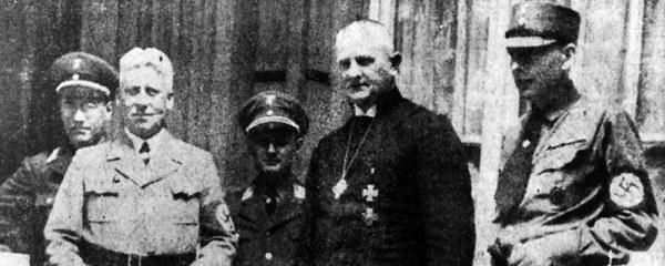 Reichsbischof L. Müller (MItte); Foto: Nordelbisches Kirchenarchiv