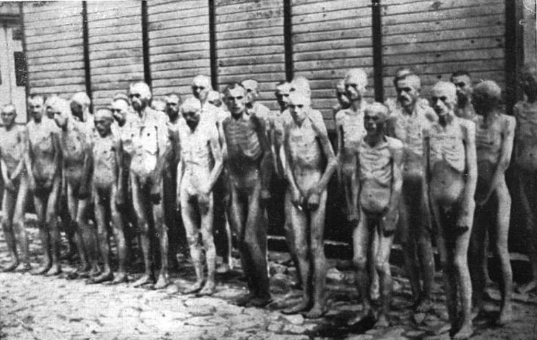 Kriegsgefangene Rotarmisten im KZ Mauthausen