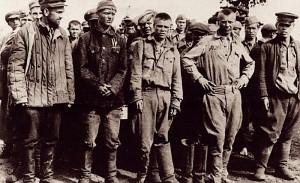 Sowjetische Kriegsgefangene im Stalag, 1943