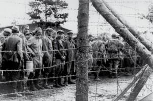 Sowjetsoldaten als Kriegsgefangene in Deutschland, 1941