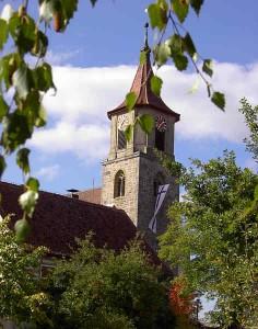 Kirche in Geslau heute
