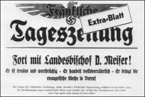 Hetzkampagne Julius Streichers gegen Hans Meiser 1934