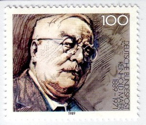 Reinhold Meier, Briefmarke zum 100. Jahrestag seines Geburtstags