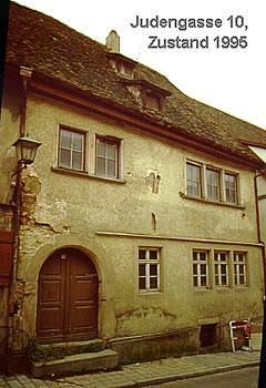 Judengasse Haus Nr. 10