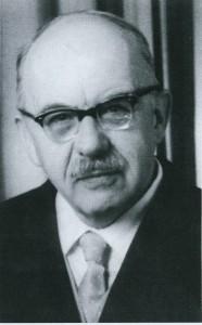 Pfarrer Wilhelm Dannheimer (gest. 1975)