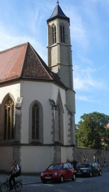Die Hl. Geistkirche im Spitalhof war Sammelbecken der Deutschen Christen